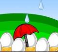 Игра Защитник яиц
