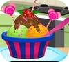 Игра Украшение сладкого мороженого