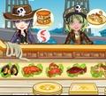 Игра Ресторан морепродуктов для пиратов