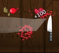 Игра Война с фруктами на кухне
