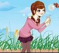 Игра Очаровательная девушка с пузырями