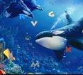 Игра Скрытый алфавит: Подводные рыбки