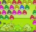 Игра Злые птички: Пузыри