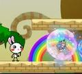 Игра Приключения радужного кролика