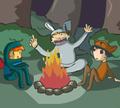 Игра Парень в пижаме 2: Темный лес