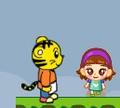 Игра Тигр спасает принцессу