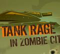 """Игра Танк """"Ярость"""" в городе зомби"""