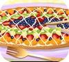 Игра Фруктовая пицца на десерт