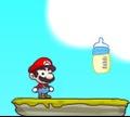 Игра Марио и бутылка молока