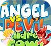 Игра Ангелы и Демоны в детском городке