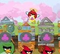 Игра Злые птички: Поделить яйца
