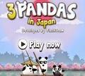 Игра Три панды в Японии