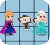 Игра приключения Эльзы в лабиринте