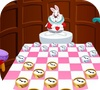 Game Checkers of Alice wonderland