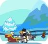 Игра Холодное сердце: Эльза в санях