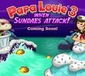 Игра Папа Луи 3: Когда атакует мороженое