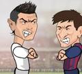 Игра Дуэль: Роналду VS Месси