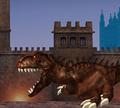 Игра T-Rex в Лондоне