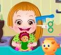 Игра Беби Хэйзел: Уход за волосами