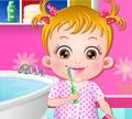 Игра Беби Хэйзел: почистить зубки