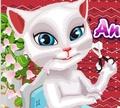 Игра Говорящая Анжела: стрижка