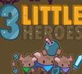 Игра Три маленьких героя