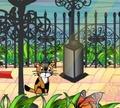 Игра Приключения котенка в городском парке