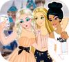 Игра Одевалка: Принцессы VS Принцы (Селфи битва)