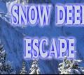 Игра Побег снежного оленя