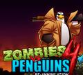 Игра Зомби VS Пингвин 4