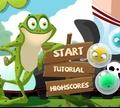 Игра Лягушка с пузырями