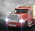 Игра Красный грузовик