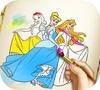 Game Princesses Coloring Book