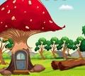 Игра Побег из грибного леса