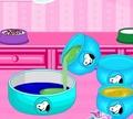 Игра Радужный торт Снуппи для клоуна
