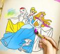 Игра Раскраска: Принцессы
