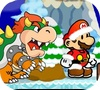 Игра Зимний забег Марио