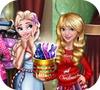 Игра Одевалка: Наряд на Рождество