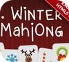 Игра Зимний маджонг
