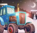 Игра Заезд на тракторах