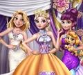 Игра Одевалка: Торжество для принцесс