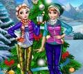 Игра Одевалка: Зимние каникулы