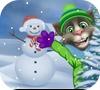 Игра Говорящий Томм: Игра в снежки