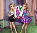 Игра Одевалка: Куколка Бачелоретте