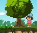 Игра Даша: Спасение детеныша динозавра