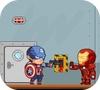 Игра Мстители против инопланетных роботов