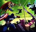 Игра Мстители против гамма-монстров