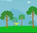 Игра Бег динозавра: спастись от вымирания