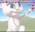 Игра Говорящая Анжела: Пузыри