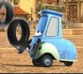 Игра Тачки: Жонглирование шинами Квидо